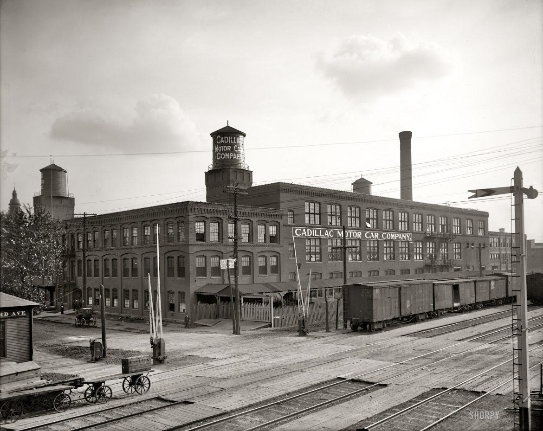 Производство машин в Детройте