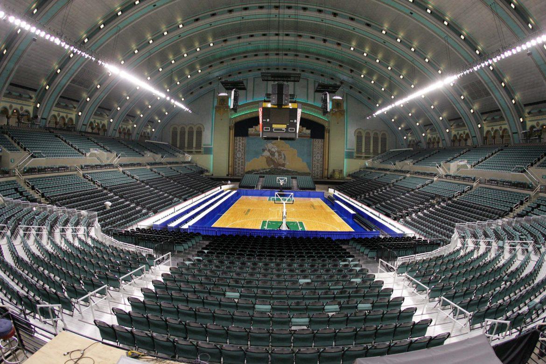 BoardWalk Hall баскетбольное поле