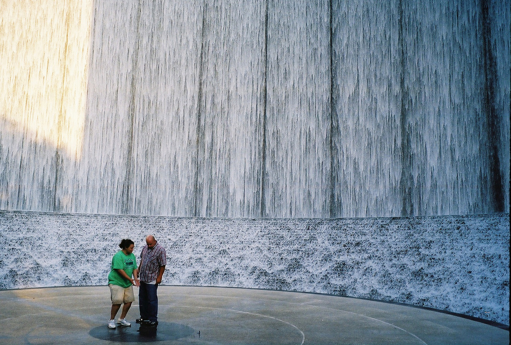 Парк водопадов в Хьюстоне