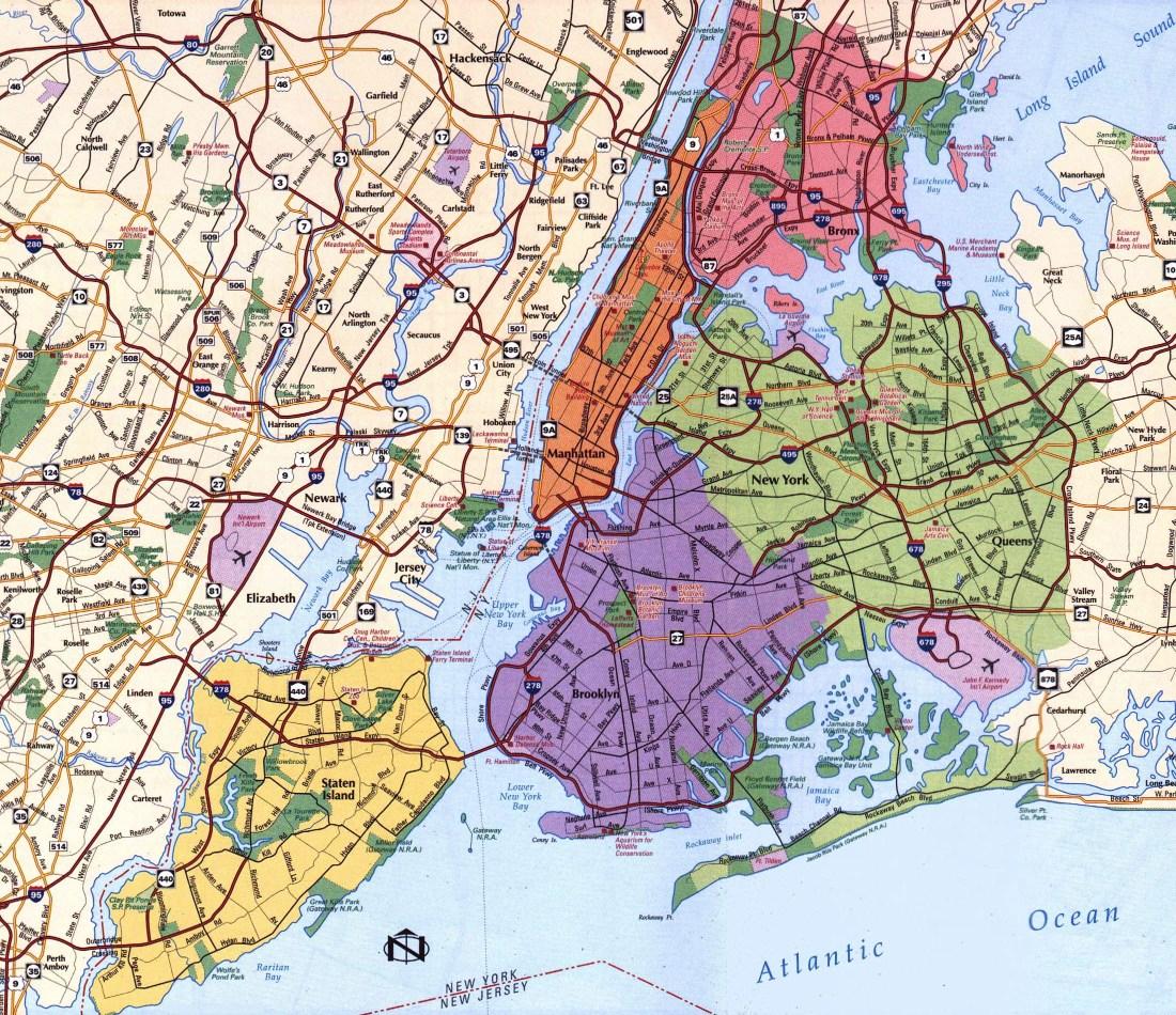 районы города Нью-Йорк