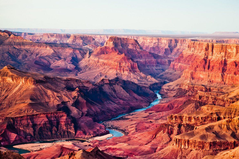 Река в Гранд Каньоне США