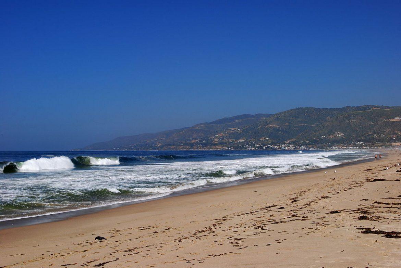 пляж Zuma Beach