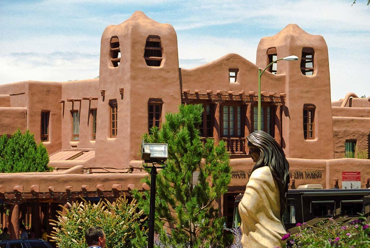архитектура в Санта-Фе
