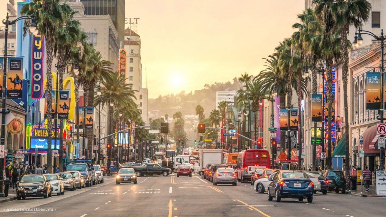 Лос-Анджелес в Калифорнии
