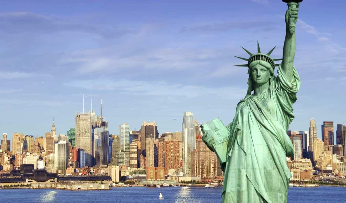 Достопримечательности города Нью-Йорк