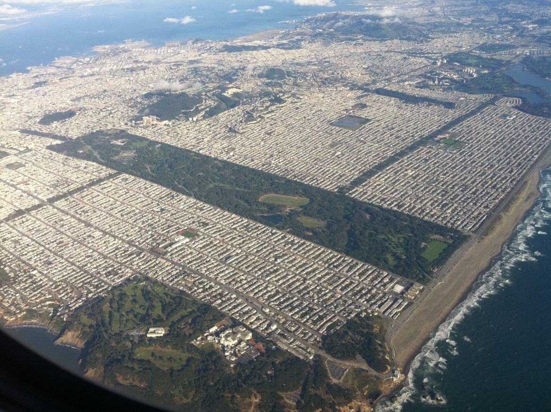 Парк «Golden Gate» в Сан-Франциско