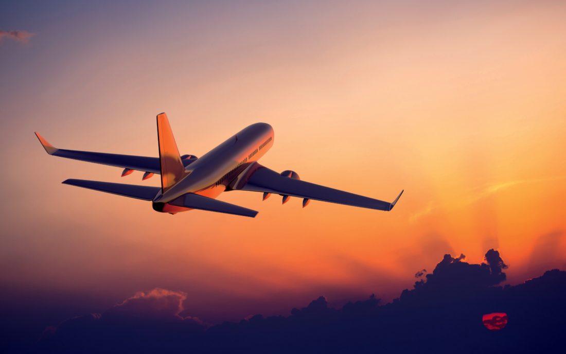 Полет в США