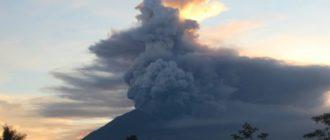 Вулкан Агун на Бали
