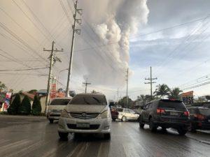 Извержение вулкана Тааль 12.01.20